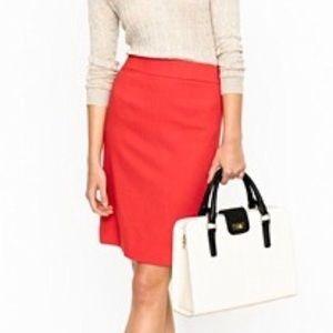 J Crew No 2 Pencil Skirt - 100% wool